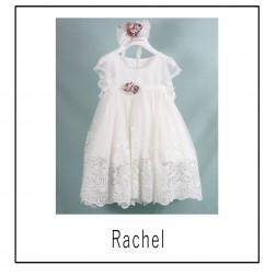"""Βαπτιστικό Φόρεμα """"Rachel"""" Bambolino"""