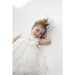 """Βαπτιστικό Φόρεμα """"Jane"""" Bambolino"""