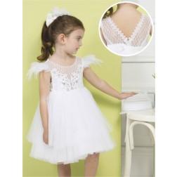 Βαπτιστικό Φόρεμα Κ4275 Λ