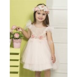 Βαπτιστικό Φόρεμα Κ4275 Ρ