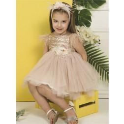 Βαπτιστικό Φόρεμα Κ4277 ΜΠ