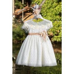 Βαπτιστικό Φόρεμα Κ4301Φ