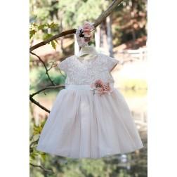 Βαπτιστικό Φόρεμα Κ4303Φ