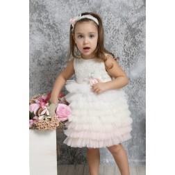 Βαπτιστικό Φόρεμα Κ4321-ΙΡ