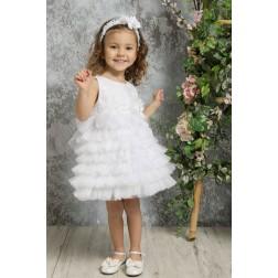 Βαπτιστικό Φόρεμα Κ4321-Λ