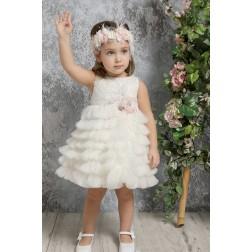 Βαπτιστικό Φόρεμα Κ4321-Ι