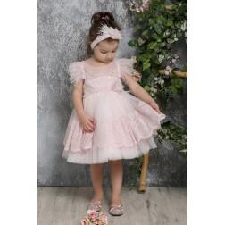 Βαπτιστικό Φόρεμα Κ4322-Ρ