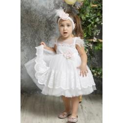 Βαπτιστικό Φόρεμα Κ4322-Λ