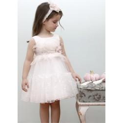 Βαπτιστικό Φόρεμα Κ4332Φ-Ι Mi Chiamo
