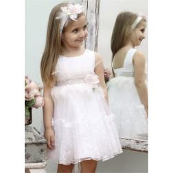Βαπτιστικό Φόρεμα Κ4332Φ-Λ Mi Chiamo