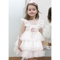 Βαπτιστικό Φόρεμα Κ4333Φ Mi Chiamo
