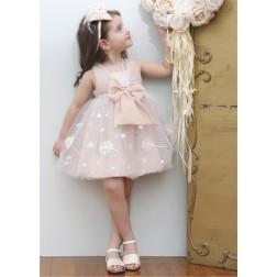 Βαπτιστικό Φόρεμα Κ4335Φ-Π Mi Chiamo