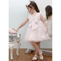 Βαπτιστικό Φόρεμα Κ4335Φ-Ρ Mi Chiamo