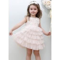 Βαπτιστικό Φόρεμα Κ4338Φ Mi Chiamo