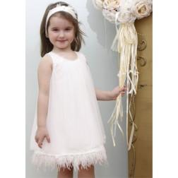 Βαπτιστικό Φόρεμα Κ4339Φ Mi Chiamo