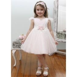 Βαπτιστικό Φόρεμα Κ4340Φ-Κ Mi Chiamo