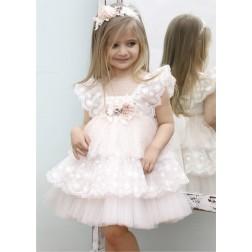 Βαπτιστικό Φόρεμα Κ4342Φ Mi Chiamo