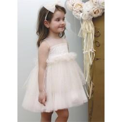 Βαπτιστικό Φόρεμα Κ4343Φ-ΜΧ Mi Chiamo