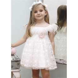 Βαπτιστικό Φόρεμα Κ4344Φ Mi Chiamo