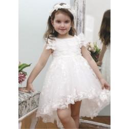 Βαπτιστικό Φόρεμα Κ4345Φ Mi Chiamo