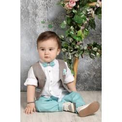 Βαπτιστικό Σύνολο Για Αγόρι A4374-ΠΟ