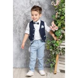 Βαπτιστικό Σύνολο Για Αγόρι Α4374-ΜΣ