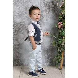 Βαπτιστικό Σύνολο Για Αγόρι Α4383-ΜΣ