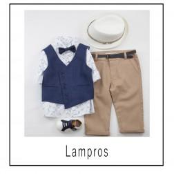 """Βαπτιστικό Σύνολο """"Lampros"""" Bambolino"""