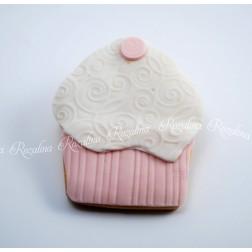 """Μπισκότο Βάπτισης Βουτύρου """"Cupcake"""""""
