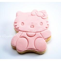 """Μπισκότο Βάπτισης Βουτύρου """"Hello Kitty"""""""