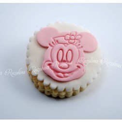 """Μπισκότο Βάπτισης  Βουτύρου """"Minnie"""""""