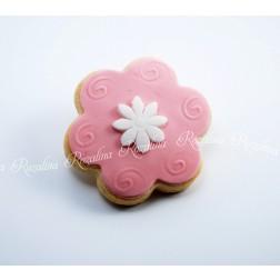 """Μπισκότο Βουτύρου """"Λουλούδι-Μαργαριτούλα"""""""