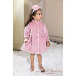 Παλτό Καπιτονέ AW21 G7 Dusty Pink Stova Bambini