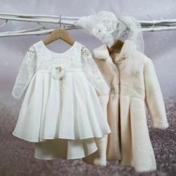 """Βαπτιστικό Φόρεμα """"Bella"""" Bambolino"""