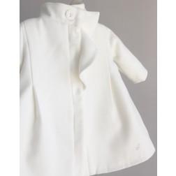 """Βαπτιστικό Παλτό """"Off White Coat"""" Angel Wings"""