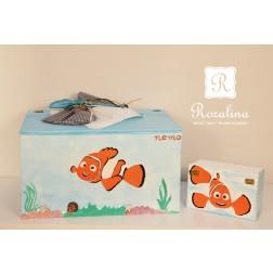 Κουτί Βάπτισης Clownfish
