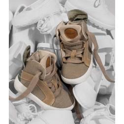 Δερμάτινα Δετά Μποτάκια Περπατήματος EXC5068 Babywalker