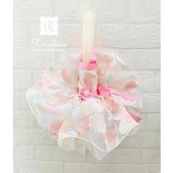 """Πασχαλινή Λαμπάδα """"Floral Dress"""""""