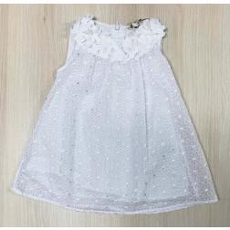 Φόρεμα Κέντημα Δαντέλα για Νεογέννητο Κορίτσι