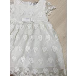 Φόρεμα Λευκό Δαντέλα DK