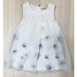 Φόρεμα Μεταξωτό για Νεογέννητο Κορίτσι