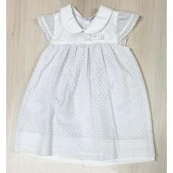 Φόρεμα Broderie για Νεογέννητο Κορίτσι