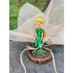 Μπομπονιέρα Μικρός Πρίγκιπας σε Κορμό Δέντρου