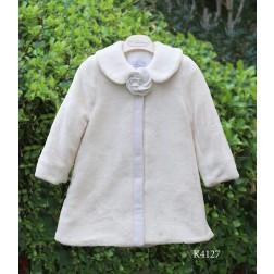 Βαπτιστικό Γούνινο Παλτό Κ4127