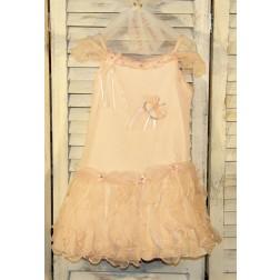 Φόρεμα Ροζ Πεταλούδα Guy Laroche