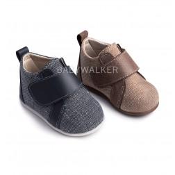 Δερμάτινα Sneakers για τα πρώτα Βήματα PRI 2049 Babywalker