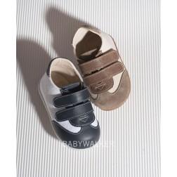 Δίχρωμο Δερμάτινο Sneakers για τα πρώτα Βήματα PRI 2039 Babywalker