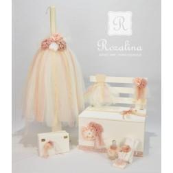 """Σετ Βάπτισης """"Romantic Dress"""""""