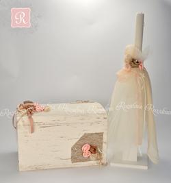 Κουτί & Λαμπάδα Βάπτισης